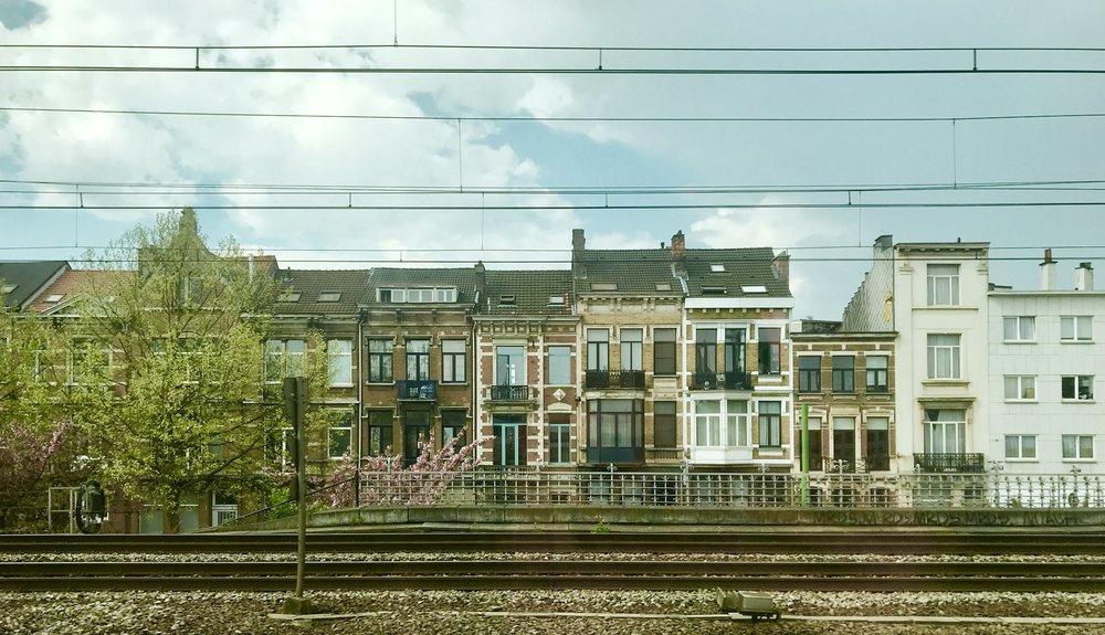 Somewhere between Antwerp and Amsterdam