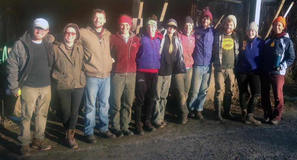 Fall Harvest Crew 2015