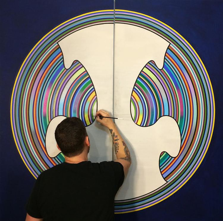 The Artists Unique Technique Is Result Of His Experimentation With Various Mediums From An Early Age And Experience 3D Light Installations