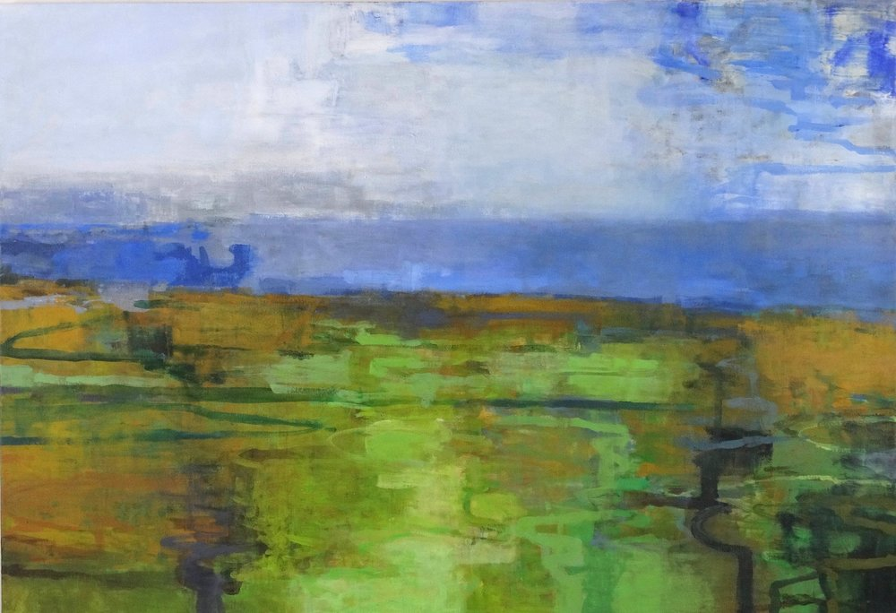 "M Fine Arts is thrilled to present a solo exhibition of abstract landscape paintings by Boston based artist, Robert Baart. In this collection,  ""Woods & Water,""  the viewer will witness his abstractive work which embodies the language of color, texture and light. Inspired by years of exploring natural spaces, this compilation of paintings will showcase a wide range of Baart's abstract yet familiar scenes of the environment."