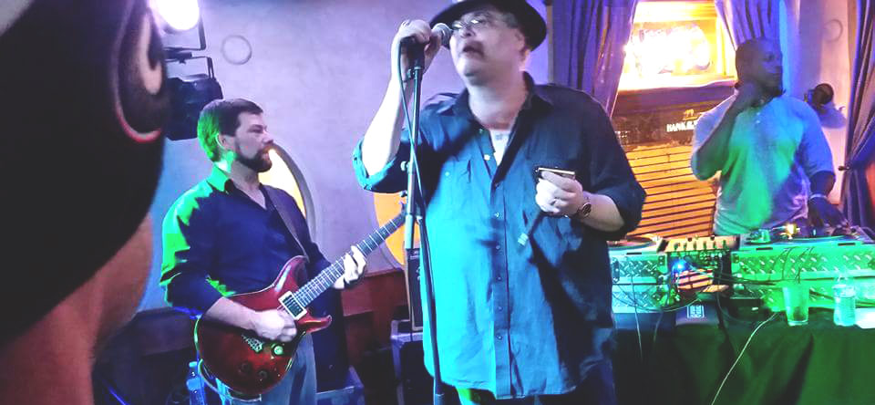 John Popper stopped in to play for a bit, no big deal.