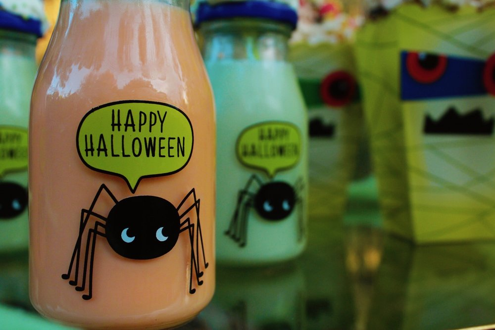 Kids Drinks Target Dollar Spot Halloween Design Organize Party.jpg