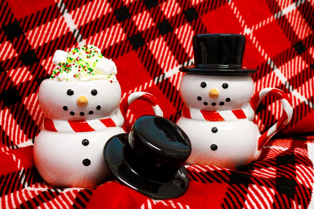 Hot Chocolate Cocoa Bar Party Snowman Mug Williams Sonoma Design Organize Party.jpg