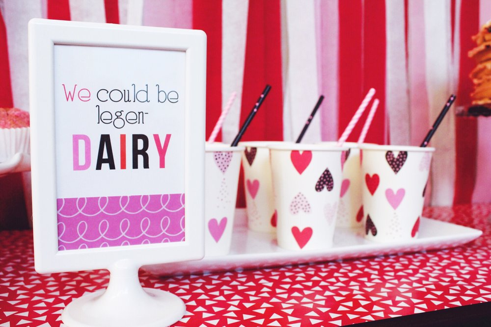 Valentine's Day Party Ideas_Breakfast_Milk Dairy Pun_Design Organize Party.JPG