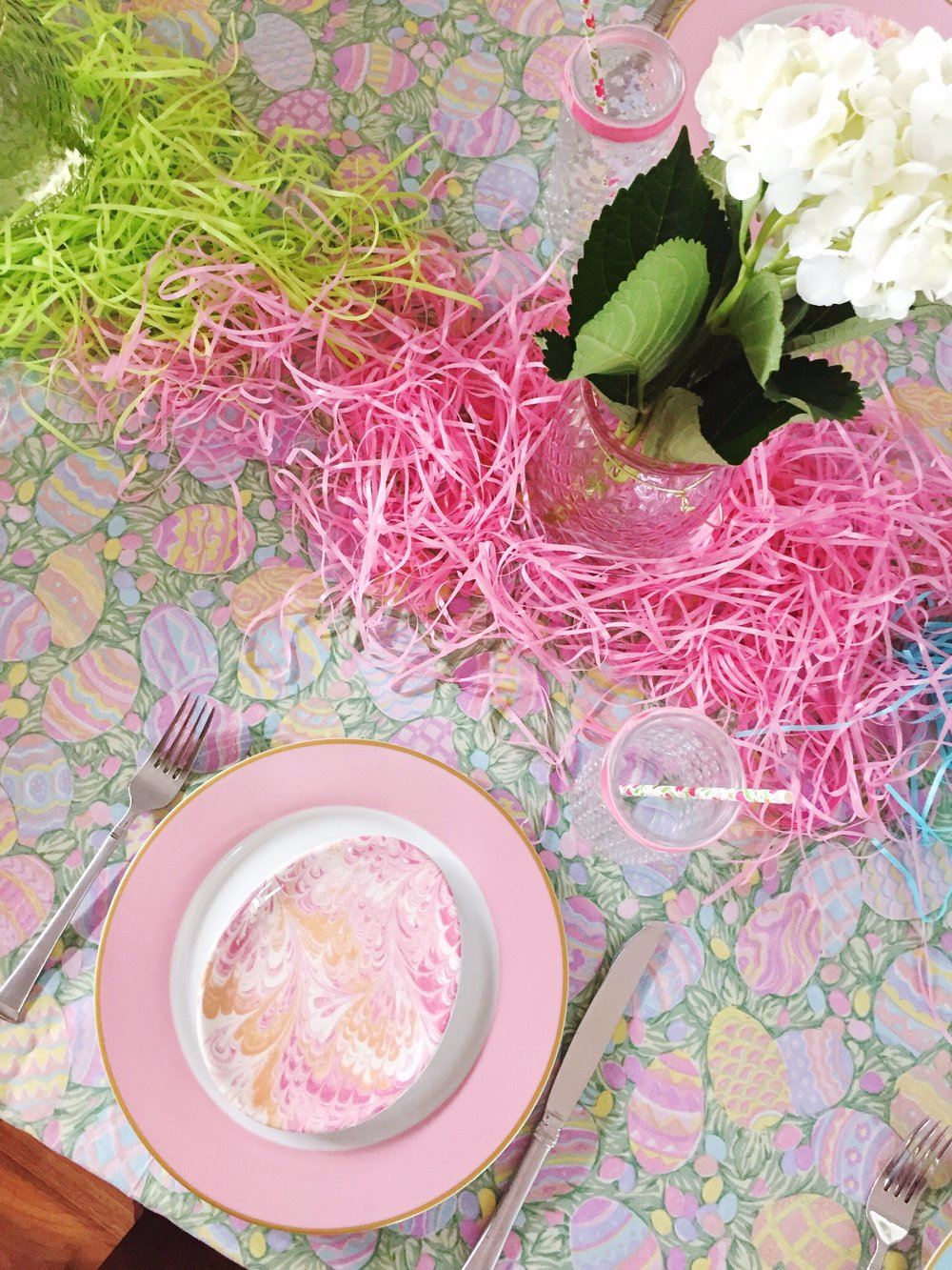 Easter Egg Plates Party Pink_Williams Sonoma_Design Organize Party.JPG