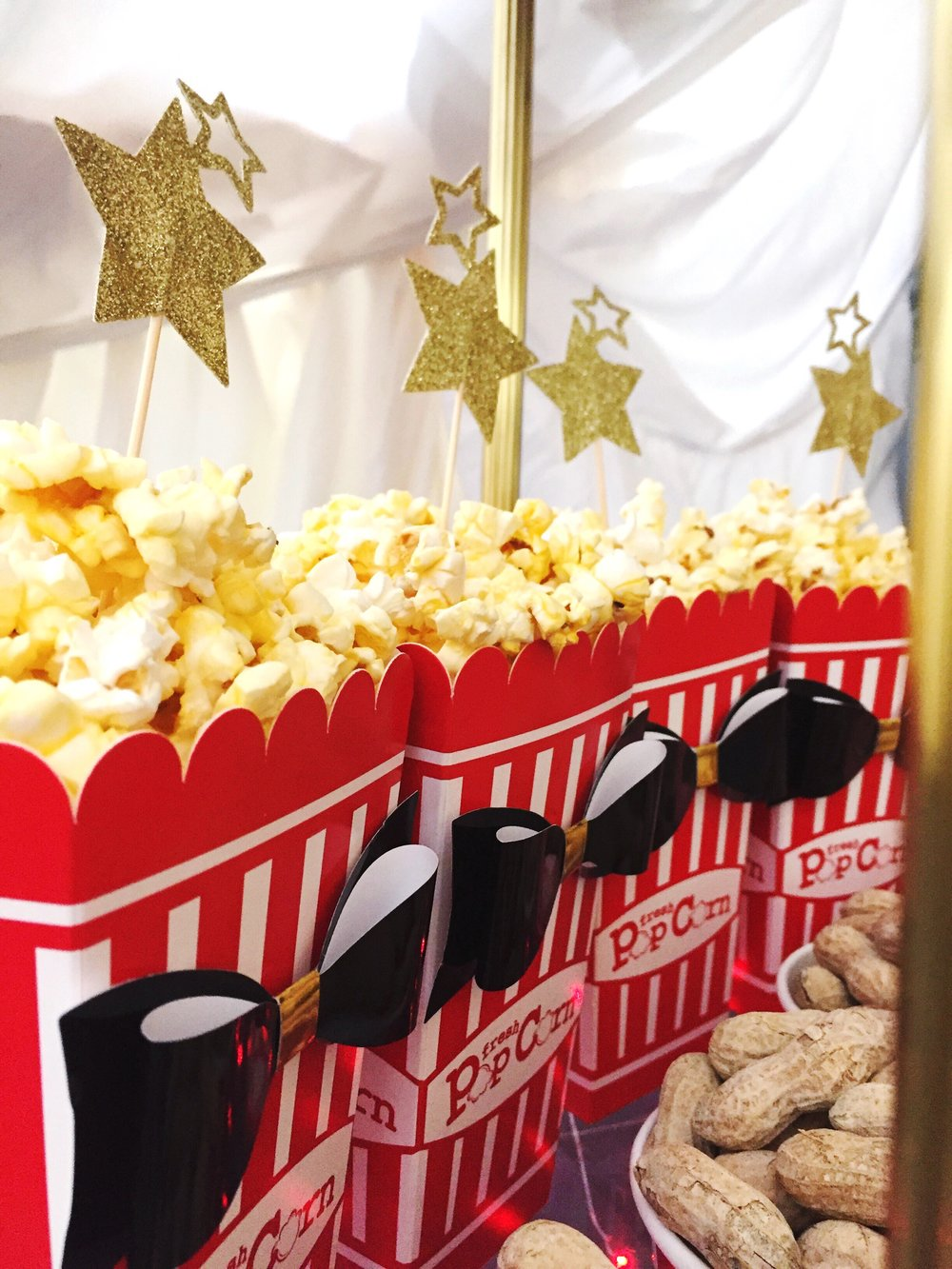 The Greatest Showman Movie Party_Popcorn_Stars_Bar Cart_Food Ideas_Circus Tent.JPG