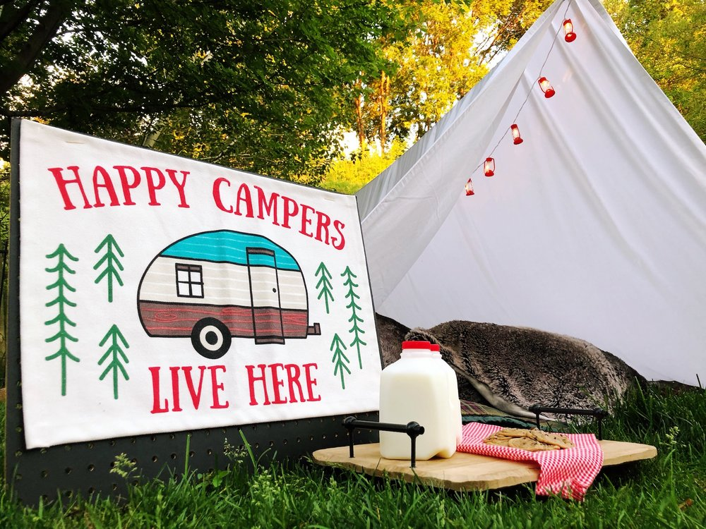 Outdoor Camping Tent Party_Target_Camp Snacks and Decorations Decor_DesignOrganizeParty.JPG