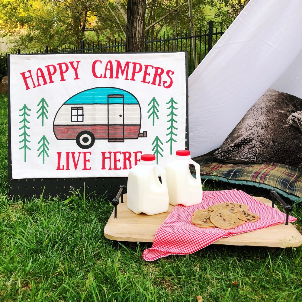 Outdoor Camping Tent Party_Target_Mini Milk Jugs and Cookies_Camp Sign_DesignOrganizeParty.JPG