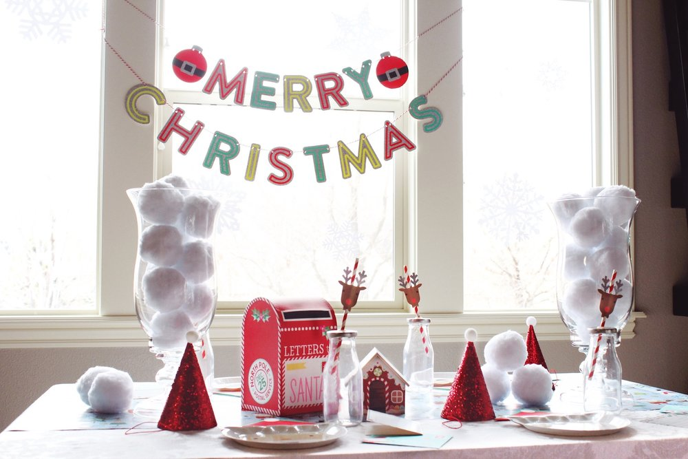 Kids Christmas Party Table_North Pole_Snow_Letters to Santa_Design Organize Party.jpg