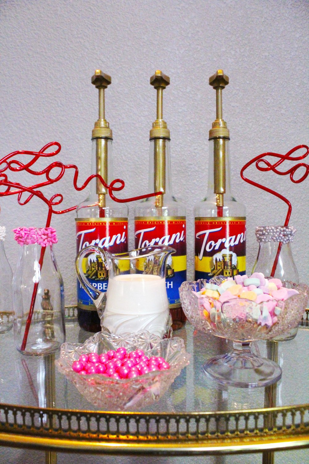 Italian Soda Bar Cart_Valentine's Day_Torani Syrups_Toppings_Design Organize Party.JPG