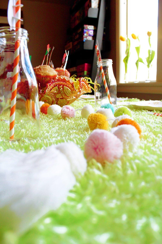 Easter Table Decor_Design Organize Party_Pom Pom Runner.JPG