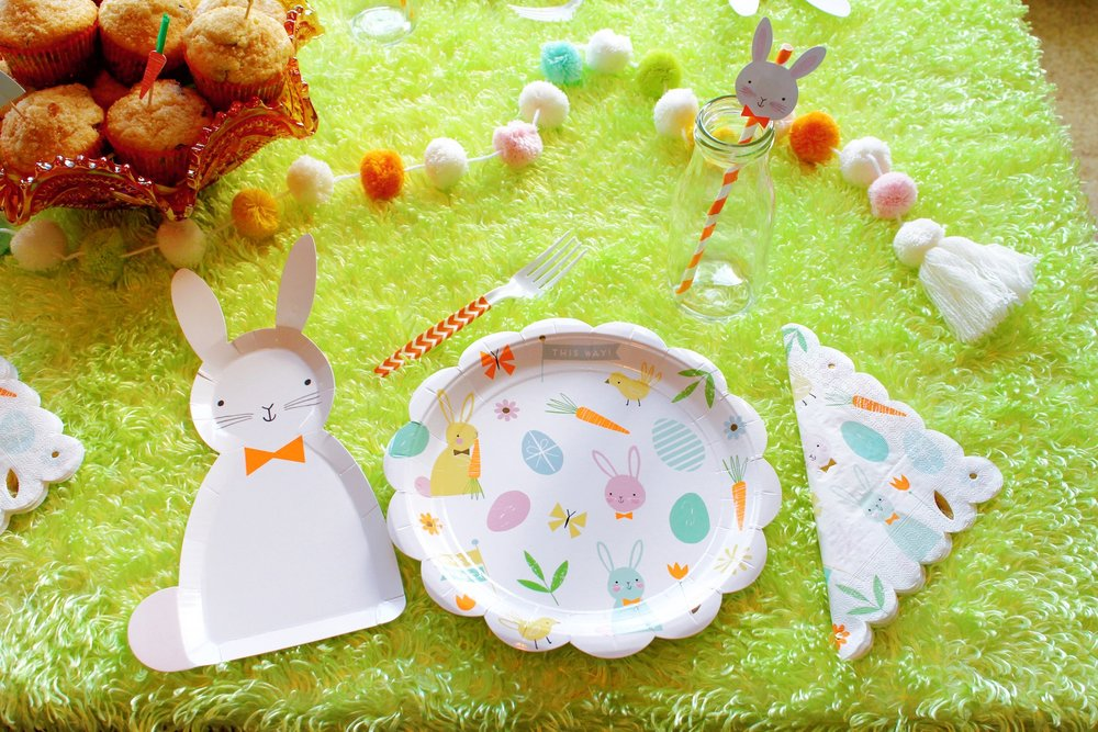 Easter Bunny Table Place Setting_Design Organize Party.JPG