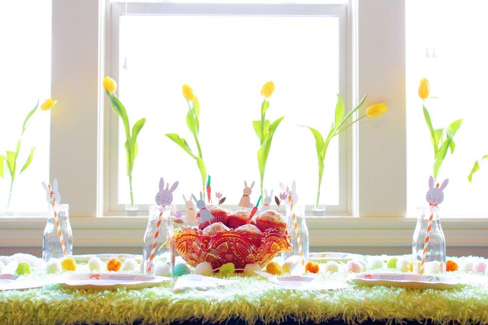 Easter morning tablescape_Design Organize Part_ Bunny Egg Hunt Breakfast.JPG