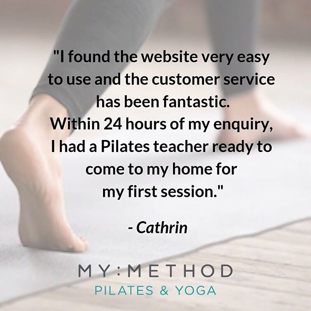 "What people say about us! 🙌 For more testimonials check out our website {link in bio} as well as our ""Testimonials"" highlight on Stories which we'll be adding to! 👆 . . . . #testimonials #yogi #yoga #pilates #londonyoga #londonpilates #pilatesandyoga #london #pilatesclasses #yogaclasses #londonclasses #happycustomer #clients #onetooneclasses #groupclasses #fitness #pilatesbody #healthspo #healthylifestyle #beatthejanuaryblues #yogaathome #pilatesathome #positivefeedback #happyclients"