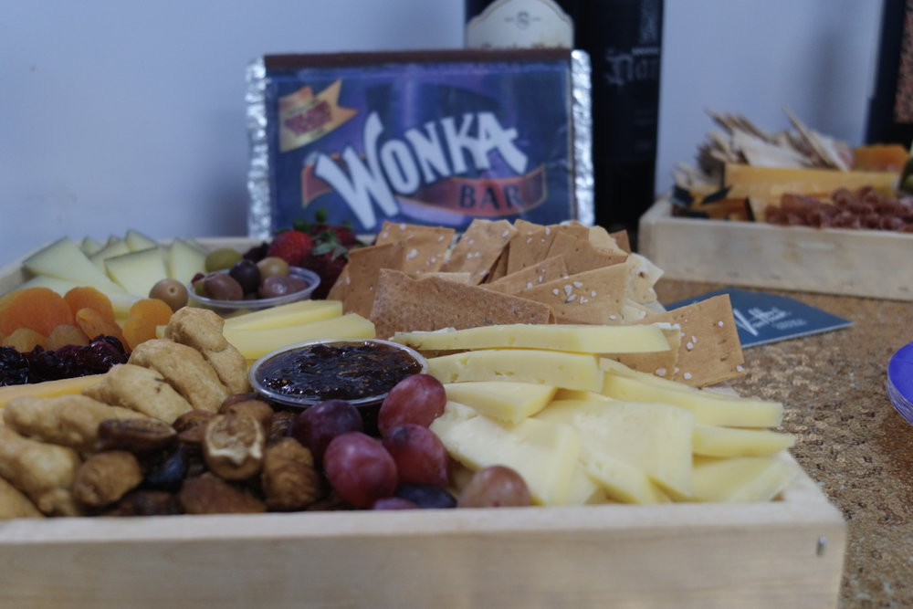 Cheese with Wonka props