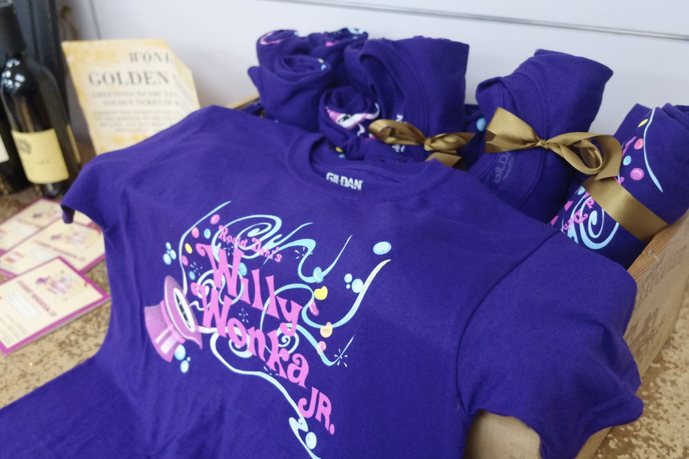 Wonka shirts