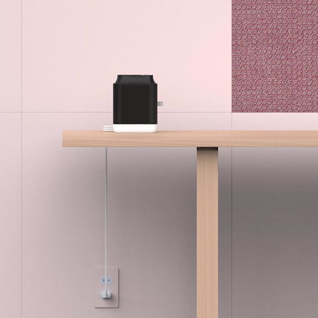Updating old work... 🐙 #render #keyshot #air #design #industrialdesign #productdesign #kvadrat #fritzhansen #cord #pink