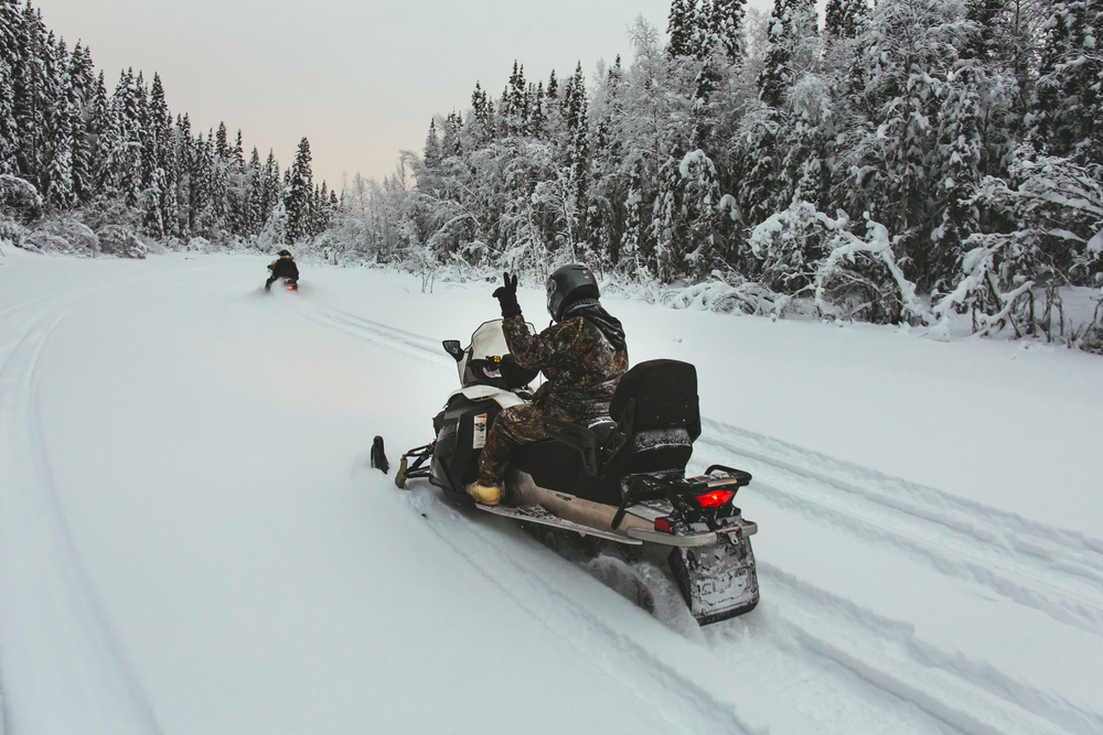 alaska snowmobile rental