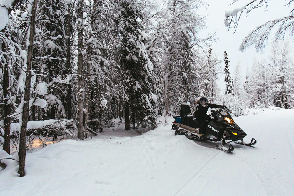 alaska snowmachine rental
