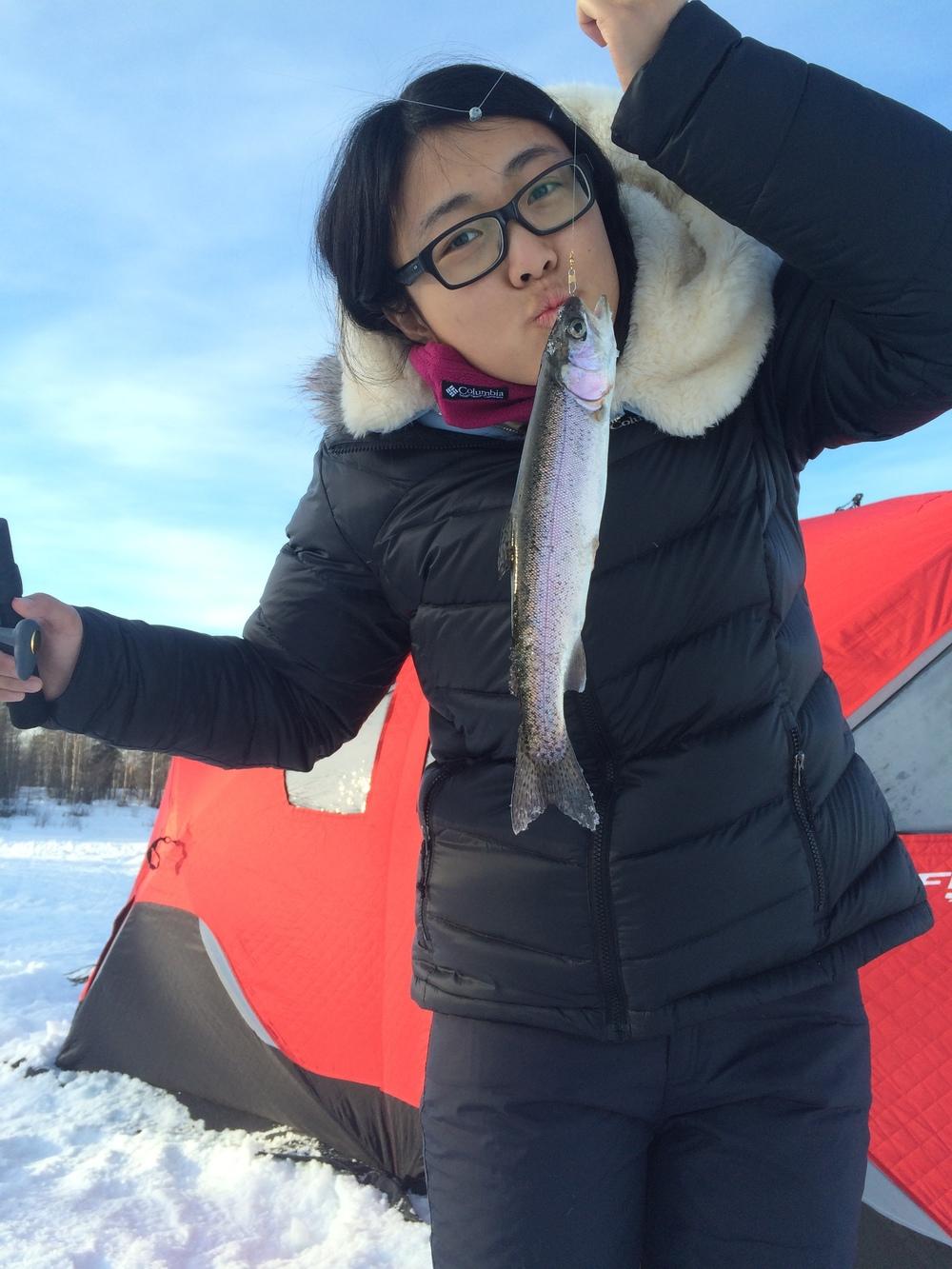 Alaska ice fishing, Fairbanks fishing, Fairbanks ice fishing, Fairbanks fishing tours, Alaska Ice fishing tour, Alaska Fishing