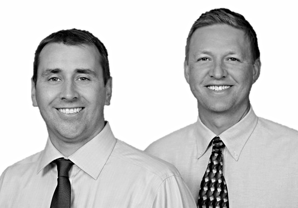 Dr. Jared Pell and Dr. Travis Bohrer of Shenandoah Family Dentistry.
