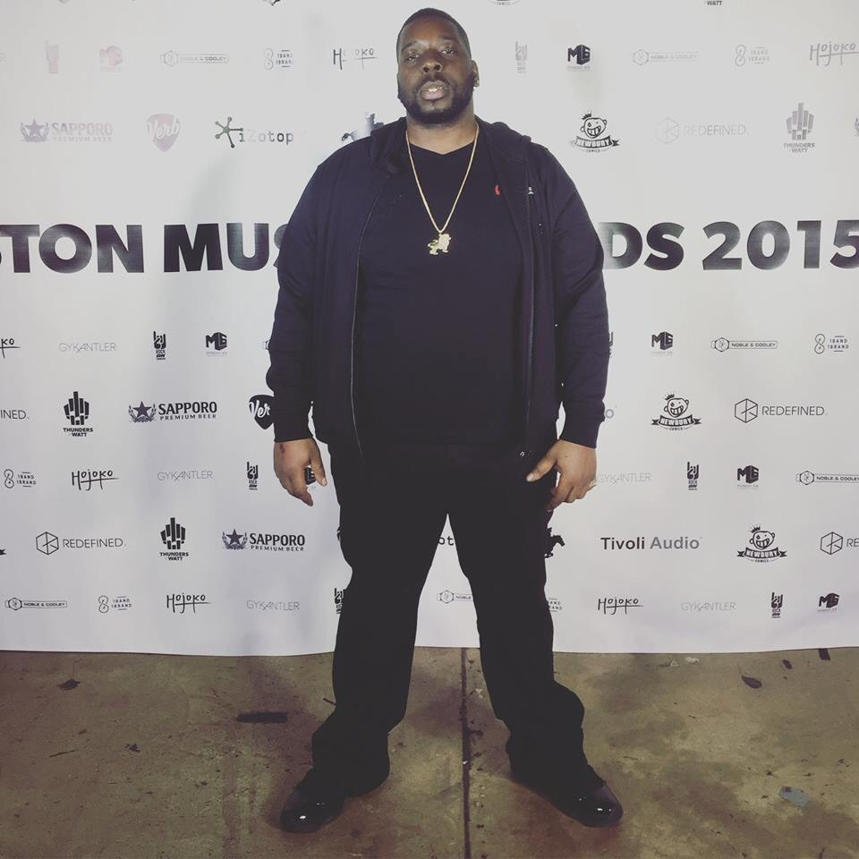 King Fiya at the Boston Music Awards in 2015