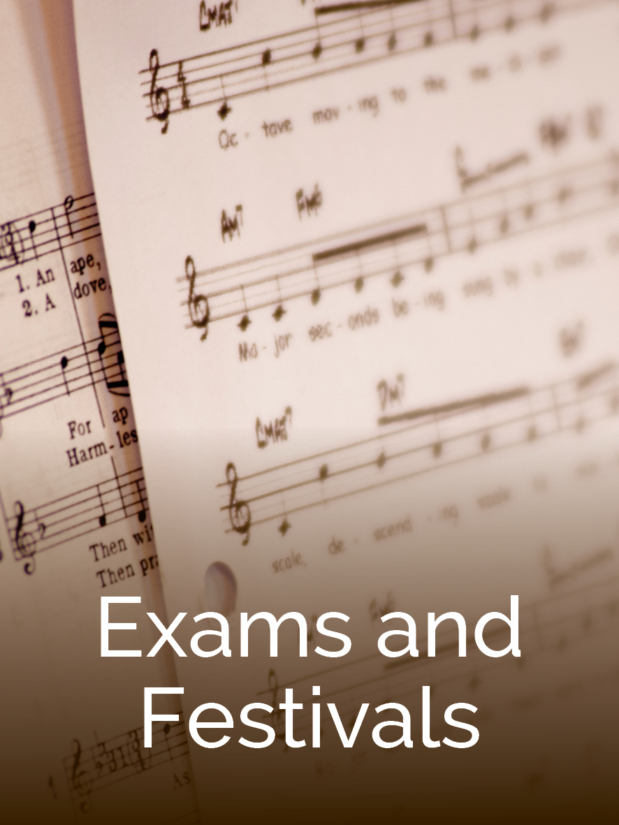 Preparing for music exams