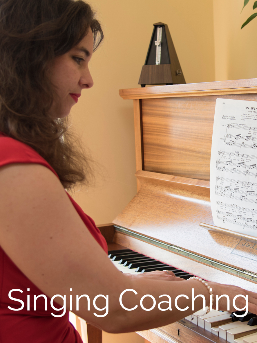 Singing coaching with Ruth Kerr