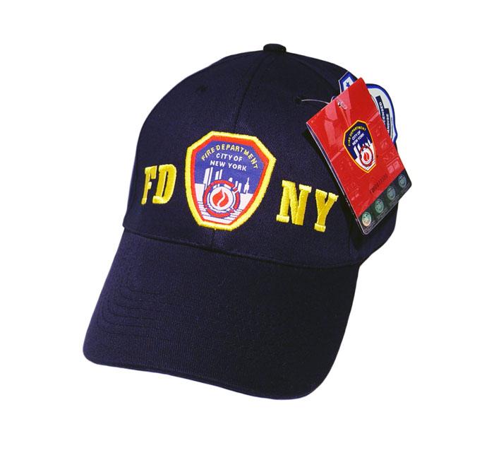 664c84af589a FDNY Emblem Baseball Hat — NEW YORK CITY FIRE MUSEUM