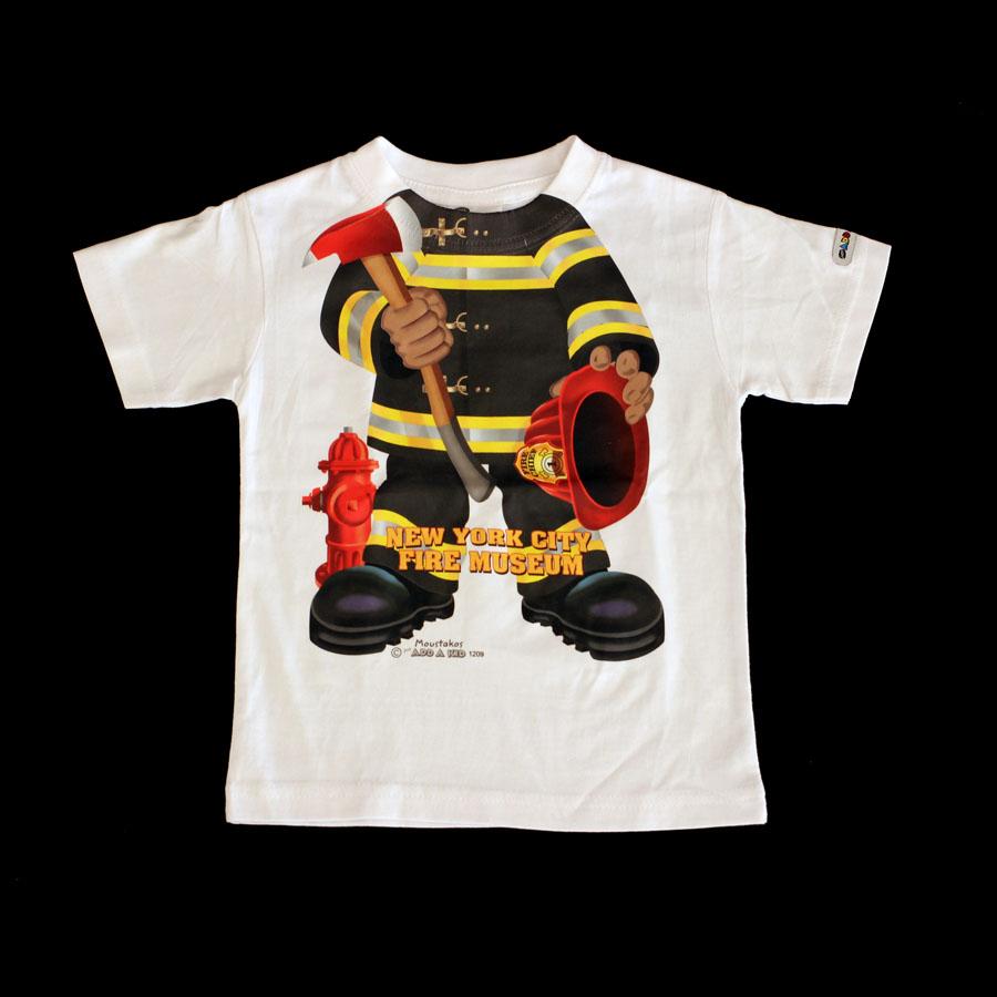 8e7731d70 Firefighter T-Shirt — NEW YORK CITY FIRE MUSEUM
