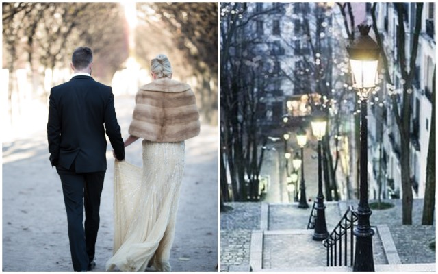Paris Winter Weddings