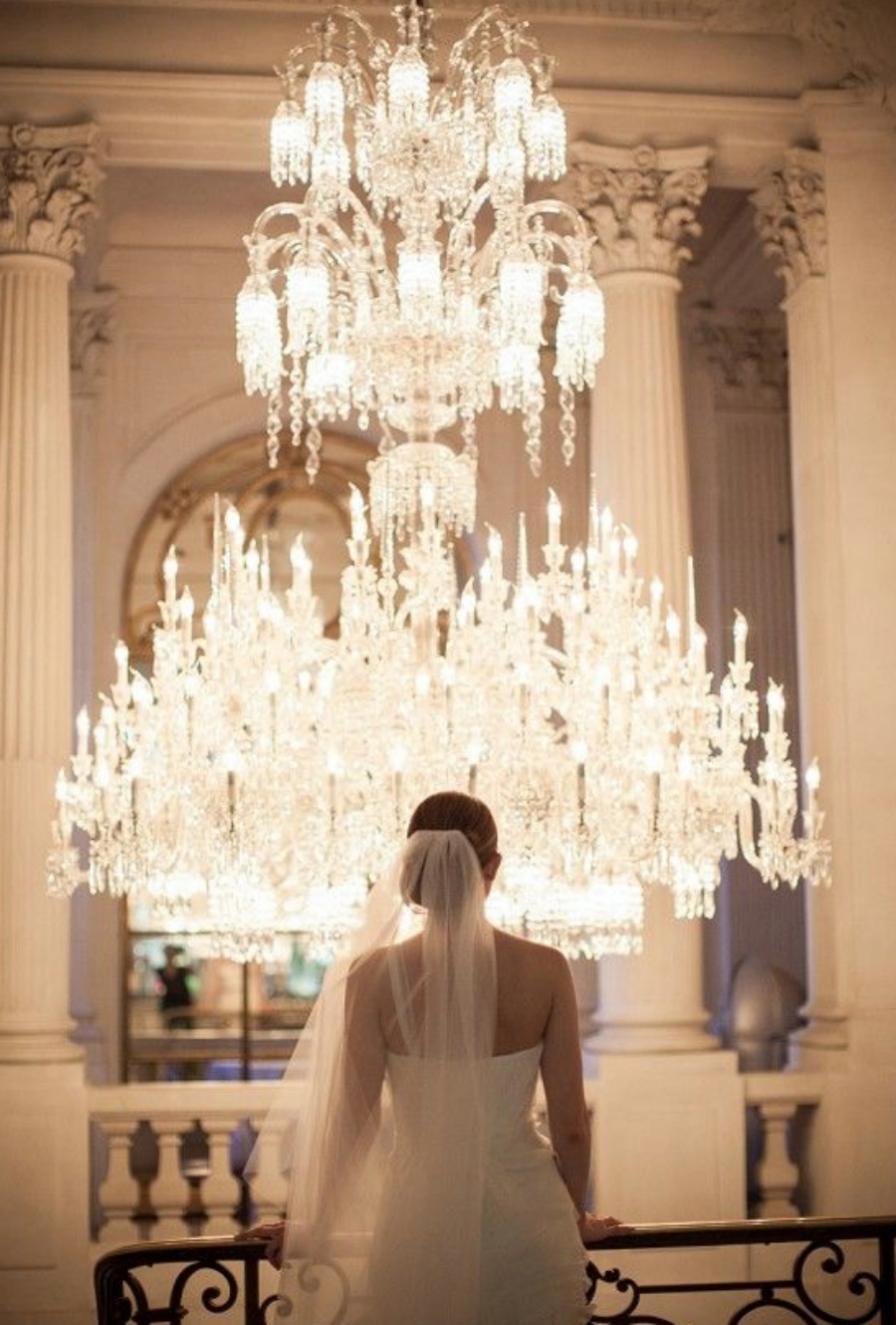 Avec Weddings & Events Chandelier