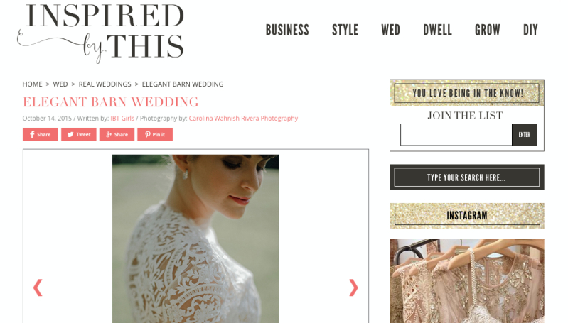 Avec Weddings and Events Elegant Barn Wedding Styled Shoot