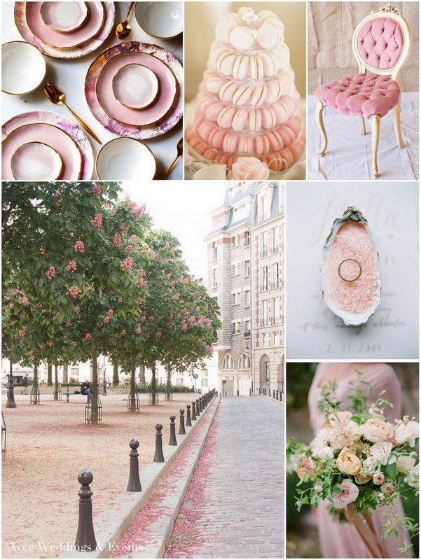 Avec Weddings & Events Pink