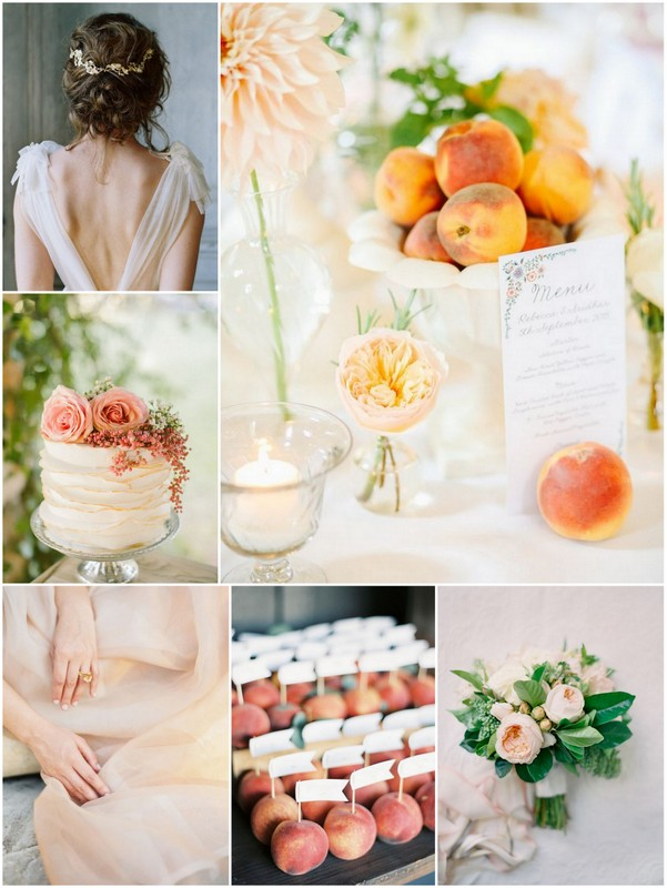 Avec Weddings & Events Mood Hue Peach Inspiration English speaking wedding planner in Paris France