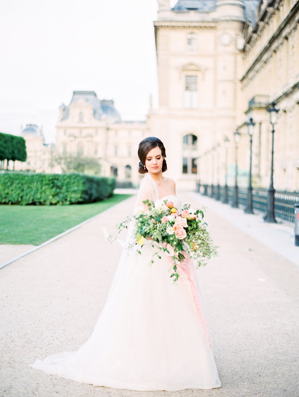 Fine Art Bride in Paris