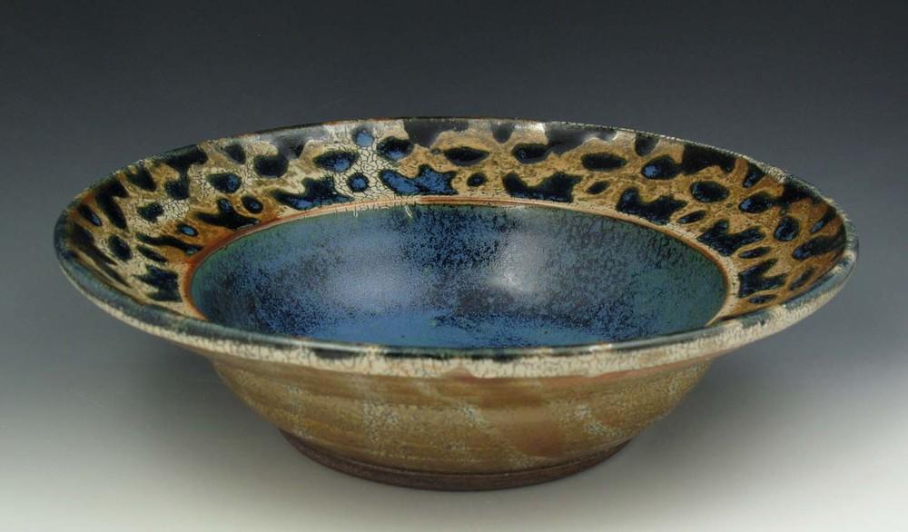 Wide Leopard Bowl