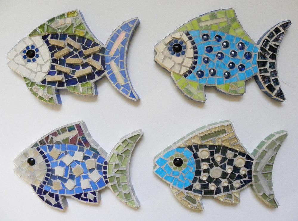 Mosaic Extra-Small Fish