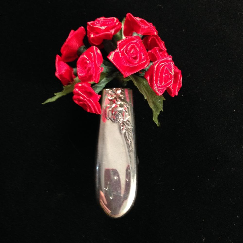 Flatware Magnetic Bud Vase