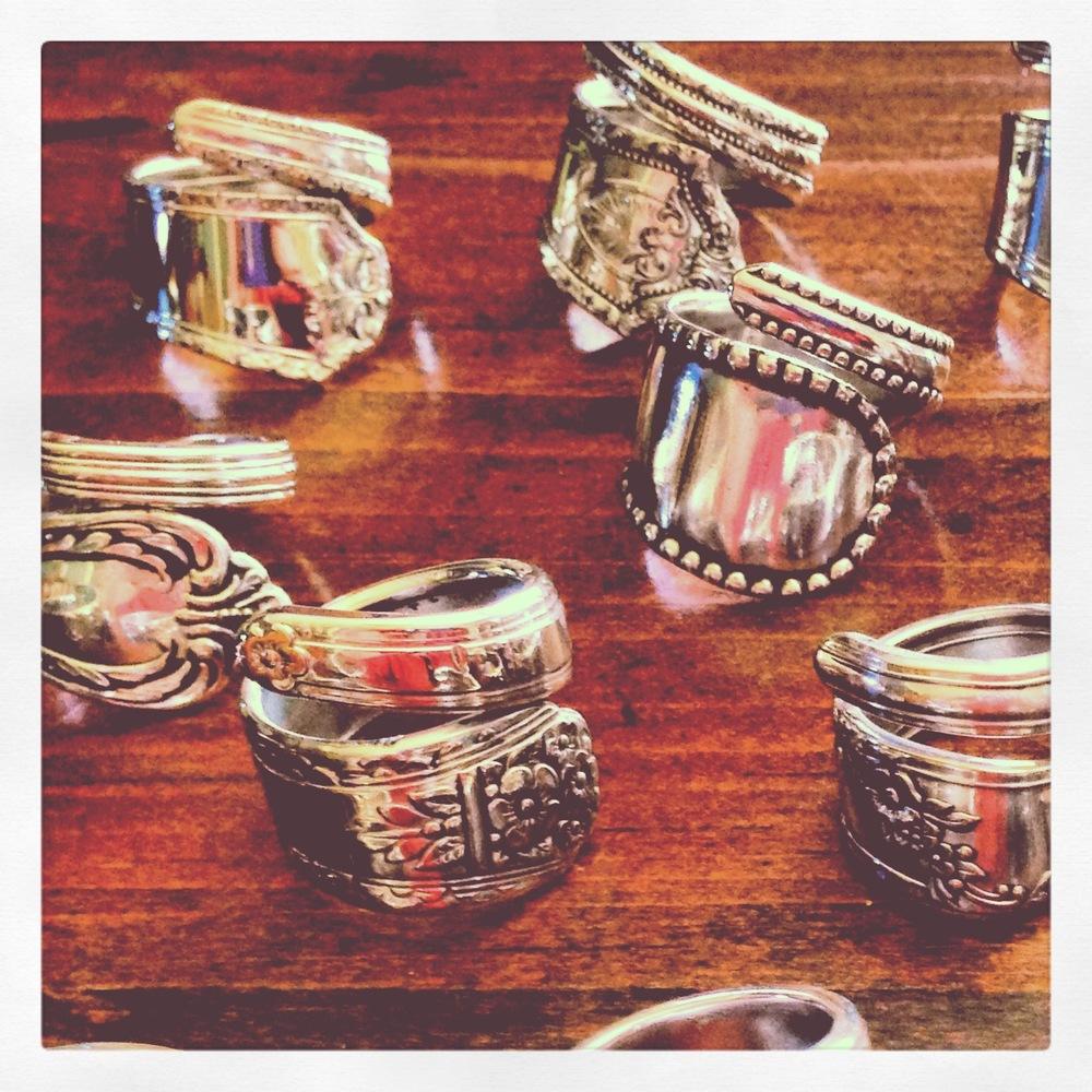 Spoon Rings