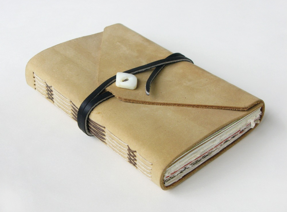 Suede Pocket Journal