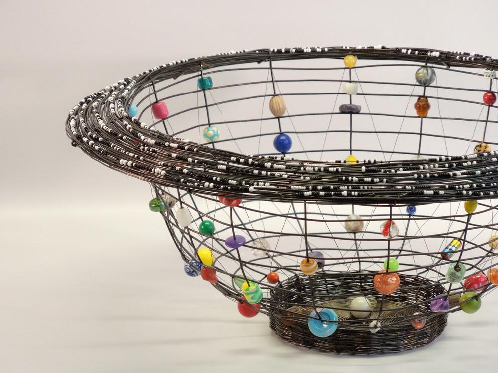 Morocco Basket, annealed steel