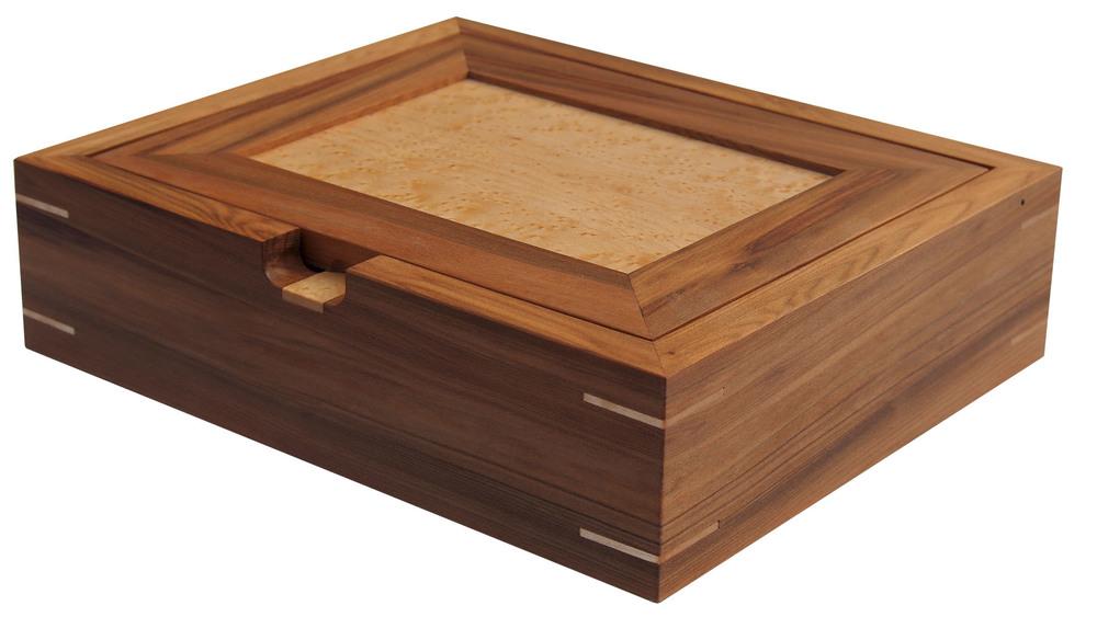 Gumwood & Bird's Eye Maple Catch-All Box