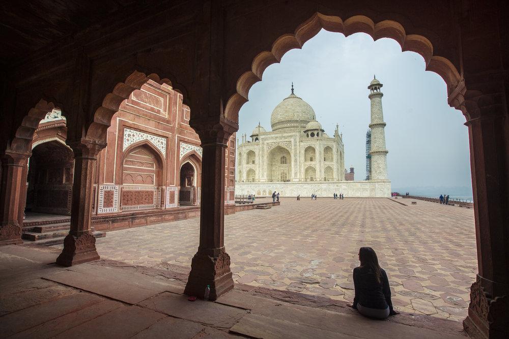 India Agra Taj Mahal Arches Traveller - M18161 Lg RGB.jpg
