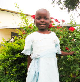 Devon is a 6-year-old girl who was dying of pneumonia and tuberculosis. Our clinic was able to treat her successfully, supporting her labored breathing via oxygen. Like many of our discharged patients, Devon received follow-up visits from our Community Health Workers to ensure she had no relapse of symptoms. She is now a healthy, active girl and is happily attending school.