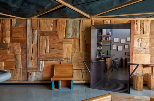 Consultants Townsend Brown Structural GC Wolfe Inc Wood Ido Yoshimoto Metal Functional Steel Objects Concrete ConcreteWorks Lights WP Plaster