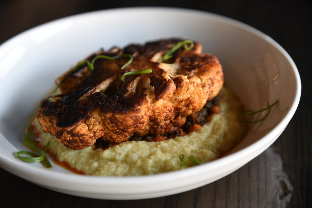 Blackened Cauliflower Steak