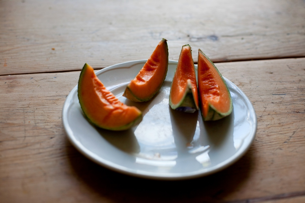 After going through chemotherapy, her mom began to eat certain foods with flavors and textures that she liked. Her diet was changing. Sometimes she would only have a bite of toast the entire day. But when she did eat, she ate the specific foods she liked, like melon for instance.  She liked the cool texture of it.