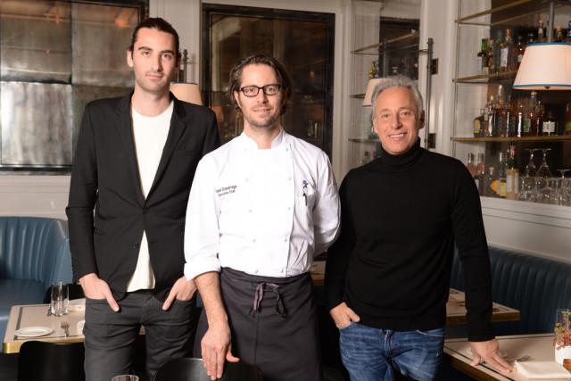 Kyle Hotchkiss Carone, David Standridge, and David Rabin.   Steve Eichner
