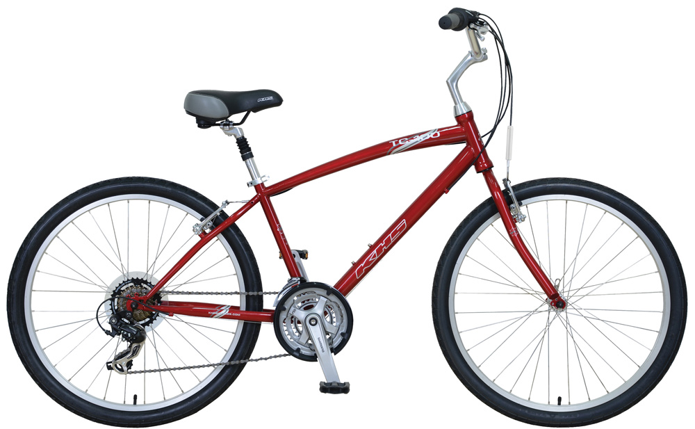 KHS Town & Country 100 Red ($339)